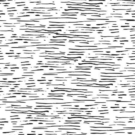Decorative hand drawn seamless pattern. Vectores
