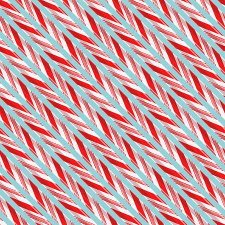 Candy strokes seamless pattern. Illustration