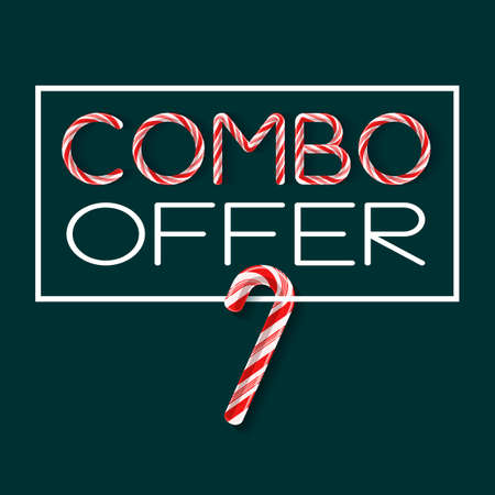 Combo Offer creative poster template vector illustration