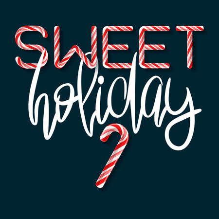 Sweet Holiday - creative poster