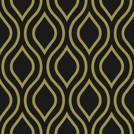 Decorative vector seamless pattern, art deco style Vettoriali