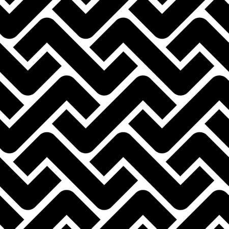 Decorative vector seamless pattern in scandi style Vettoriali