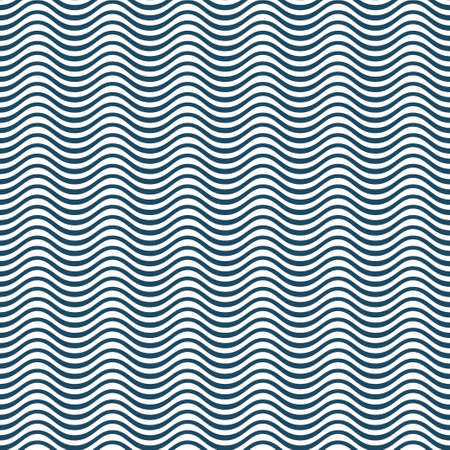 Abstract wavy seamless vector pattern