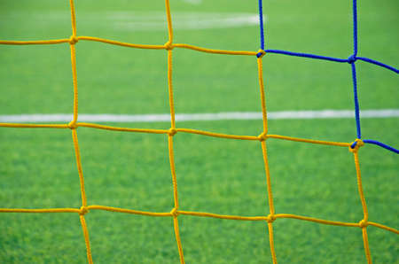 Grid goal for the game of football.