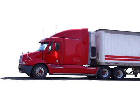 carro rojo Foto de archivo - 410013