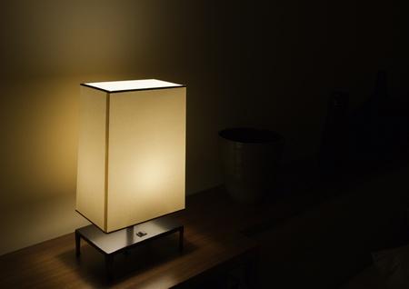 metal base: photo of table light