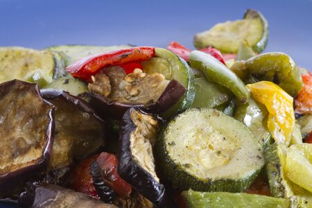 ingedient: photo of mixed grilled vegetables