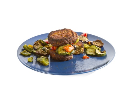 photo of mixed grilled vegetables