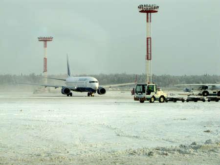snowbound: snowbound airport Editorial