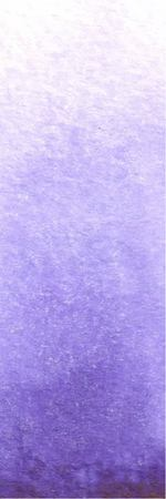 Watercolor textured blurred violet vector gradient background, romantic background. Ilustração