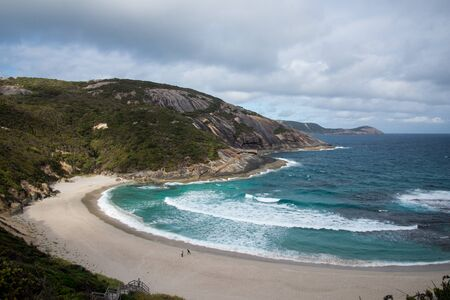 misery: Misery Beach in Torndirrup National Park, Albany