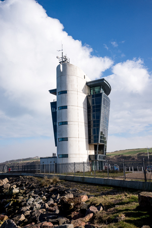 Aberdeen Shipping Control Centre building at North Pier
