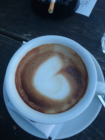 kafe: coffee time Stock Photo