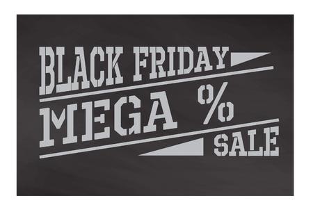 black friday label Reklamní fotografie - 65247690