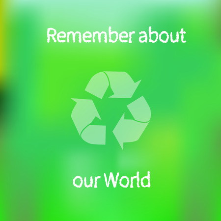 Ecology banner Ilustrace
