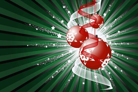 Christmas abstraction Stock Photo - 4137082