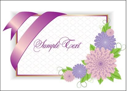 Romantic Flower Background Stock Vector - 9477788