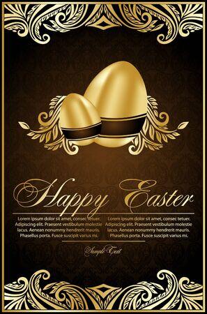 uova d oro: sfondo con le uova d'oro