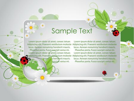 biologic: beautiful vector nature background