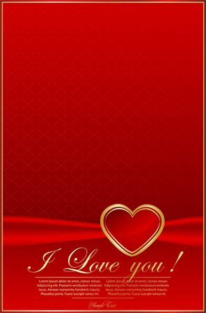 Elegant red background Vector