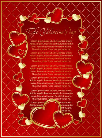love image: Romantic valentine card