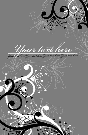 abstract  floral  background Stock Vector - 10351830