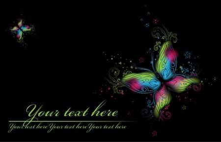 beauty butterflies Stock Vector - 10352129