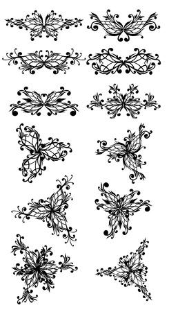 beauty design element Vector