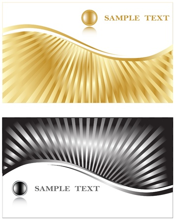 Business cards. Vector. Stock Vector - 10351824