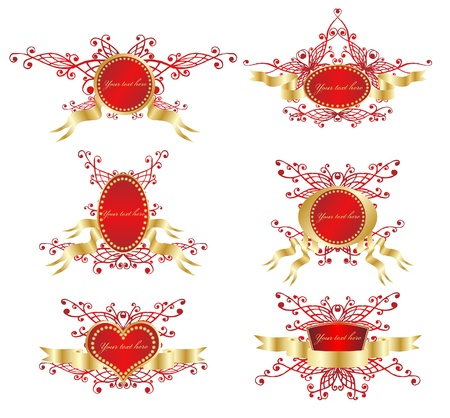 Golden  design element Stock Vector - 10353083