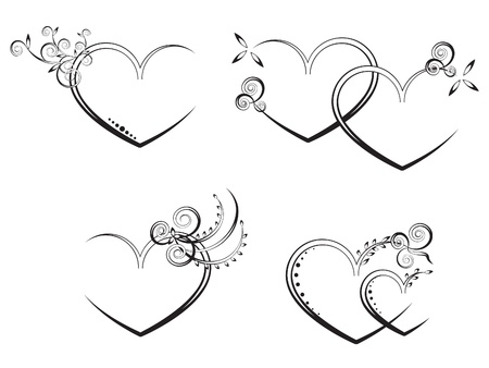 ornate heart:  flora heart