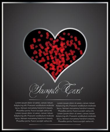 rood mooie hart