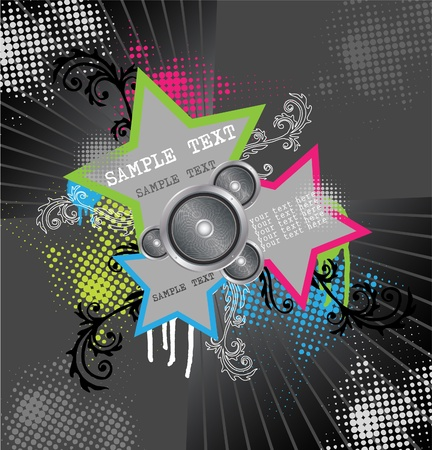 speaker box: Fondo estrella