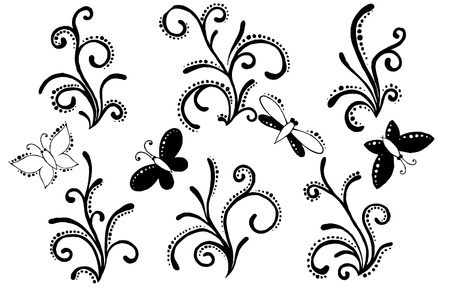 floral ornament Stock Vector - 10352772