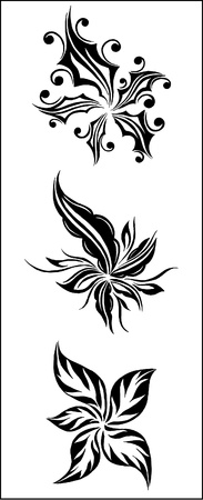florid:  floral set