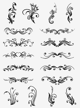 fretwork: Vectorized Scroll Design.
