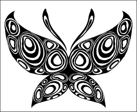 beauty butterfly Vector