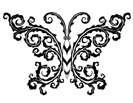 black and white backgrounds:  The abstract butterfly (Look others in my portfolio)