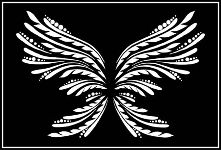 The abstract butterfly Stock Vector - 10352810