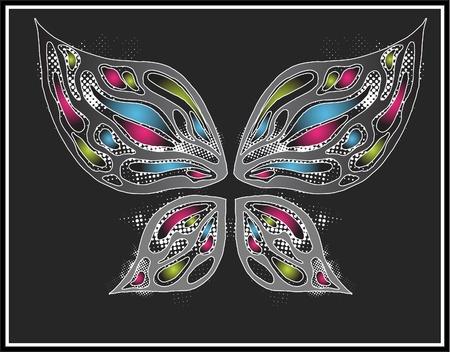 papillon dessin: Le papillon