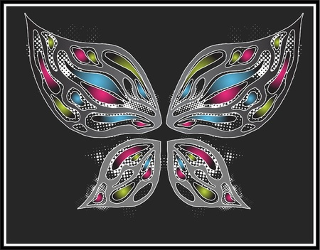 The butterfly   Stock Vector - 10353053