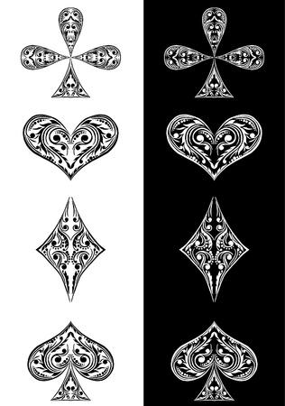 card symbols  Stock Vector - 10353058