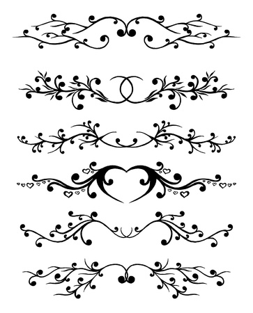 flourish:  ornament In flower style