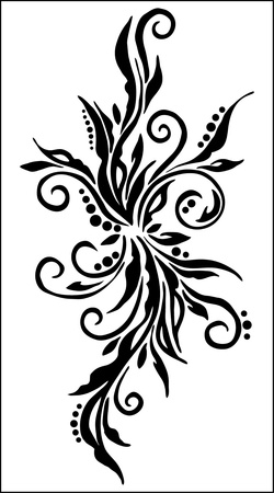 acanthus: abstract  flower