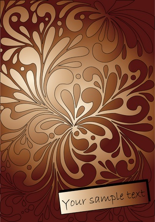 abstract floral texture Stock Vector - 10452447