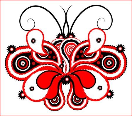 elegance butterfly Stock Vector - 10453908