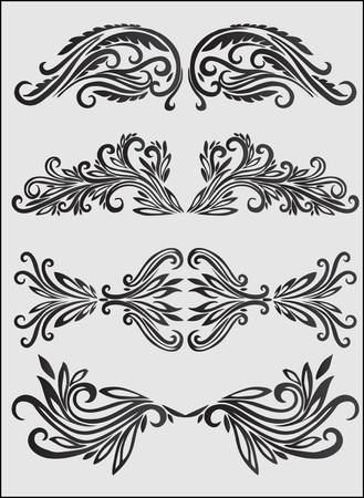 floral design elements Stock Vector - 10452379