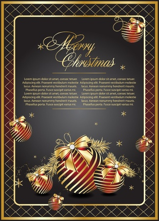newyears: Vector Christmas & New-Years Illustration