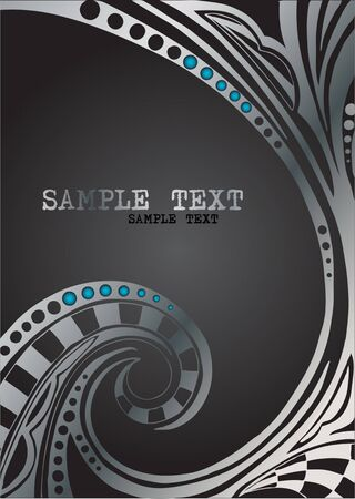 silver texture: Vector geometric  background