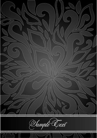 vintage floral background Stock Vector - 10452344